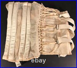 Vintage Womans Girdle Corset Open Bottom White Size 40 Atco Nice