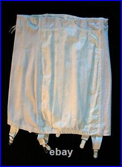 Vintageformfit Rogersgirdle Corset High Waist Open Bottom Garters Sz 30 Nwot