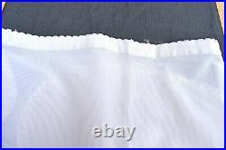 Vtg 60's fabulous creation stretch GIRDLE garter belt open bottom rare large 42