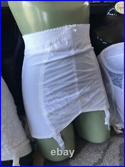 Vtg Berlei Gay Slant Open Bottom Girdle Waist Size 32 34 Style 732 Firm