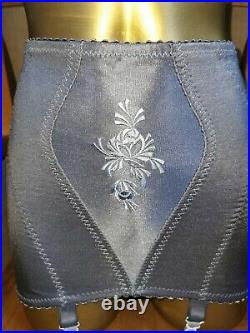 Vtg Girdle Open Bottom Grey By Mark's And Spencer Waist Size 28-30 Inches A-199
