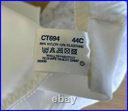 Vtg Shapely Figures sissy open bottomed girdle suspender corset UK 44C EU 100C