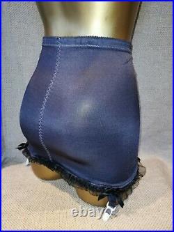 Vtg Style Girdle Open Bottom Grey By Playtex Waist Size 28/30 Inches # 1485