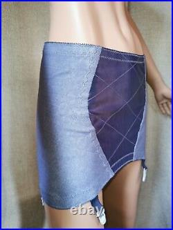 Vtg Style Girdle Open Bottom Grey By Playtex Waist Size 34 Inches #176
