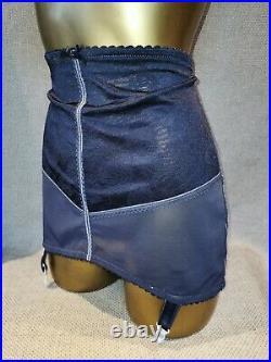 Vtg Style Pantie Girdle Open Bottom Grey By Damart Waist Size 34-36 #1465