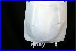 XL 31/32 VTG 1960s NOS OPEN BOTTOM Girdle Nylon Lycra Sears 21264 4-Garter 60s